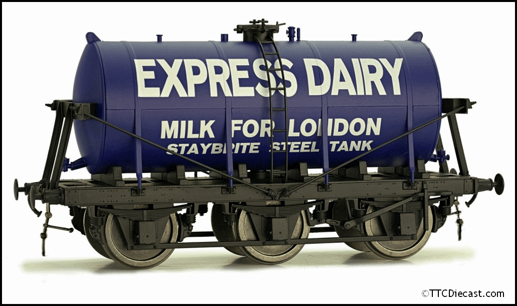 DAPOL 7F-031-001 6 Wheel Milk Tanker Express Dairies